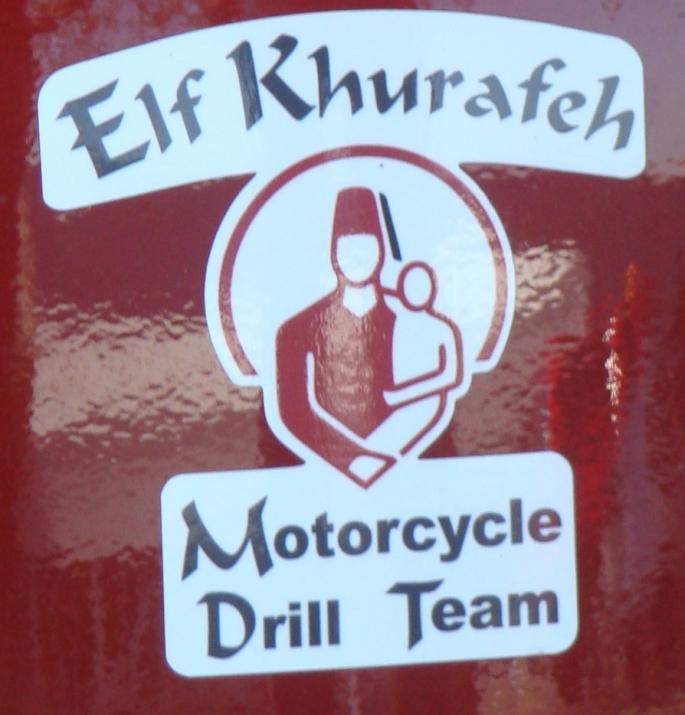 Elf Khurafeh Motorcycle Drill Team